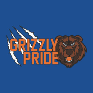 Grizzly Pride Youth T-Shirt Design