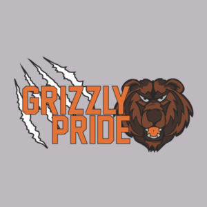 Grizzly Pride Youth Hoodie Design