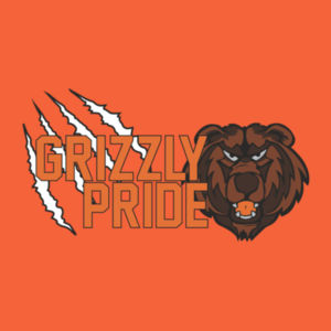 Grizzly Pride Adult T-Shirt Design