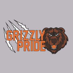 Grizzly Pride Ladies T-Shirt Design