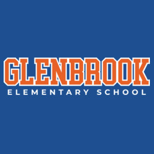 Glenbrook Youth Fleece Crewneck (Blue) Design