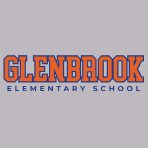 Glenbrook Youth Fleece Crewneck (Grey) Design