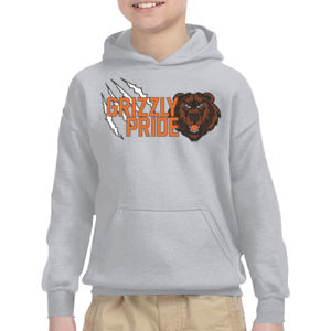 Grizzly Pride Youth Hoodie Thumbnail