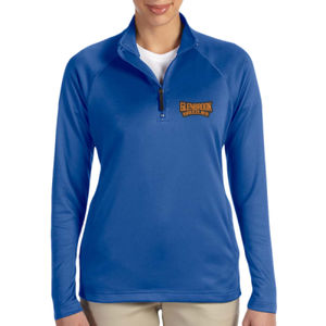 Glenbrook Ladies' Stretch Quarter-Zip (Embroidered) Thumbnail