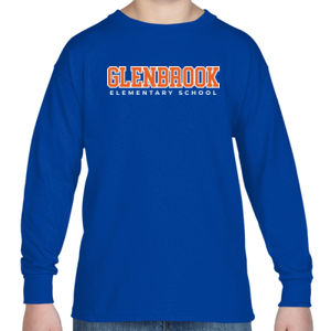 Glenbrook Youth Long-Sleeve T-Shirt (Blue) Thumbnail